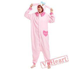 Adult Melody Kigurumi Onesie Pajamas / Costumes for Women & Men