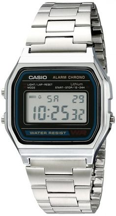 Casio Mens Vintage Metal Band Alarm Chronograph Casual Digital Watch - Mens Casual Watches - Ideas of Mens Casual Watches - Casio Mens Vintage Metal Band Alarm Chronograph Casual Digital Watch Price : Casio Digital, Mens Digital Watches, Stainless Steel Watch, Stainless Steel Bracelet, Casual Watches, Watches For Men, Wrist Watches, Men's Watches, Sport Watches