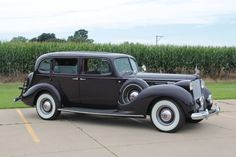1938 Packard Twelve Model 1608 Seven-Passenger Limousine.