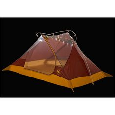 Big Agnes Ripple Creek UL2+ mtnGLO Tent: 2+ Person
