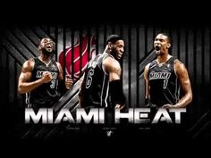 Heat banner 2014 campaign sports stars basketball nba lebron bosh team ball wade heat big three miami heat franchise