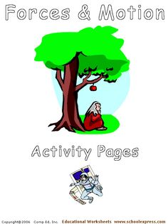 Force & motion activity pages