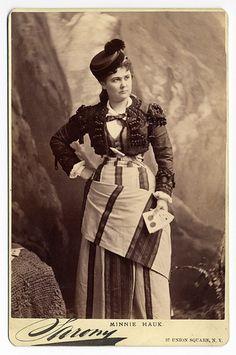Portrait of Minnie Hauk