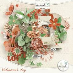 Valentine's day {free with purchase} [msad_collab_carribeanxmas] - €6.99 : My Scrap Art Digital, Passion for Digital Scrapbooking