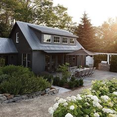 Astounding 23 Best Black House Exterior https://decorisme.co/2018/03/13/23-best-black-house-exterior/ A paints color isn't always indicative of the sum of light it reflects.