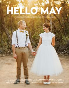 No Joke - This mag is everything I wanted in a wedding mag! ahhh the Images, Posts & Vendors are AMAZING