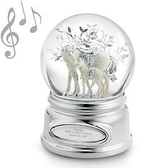 horses in snow globes - Google Search