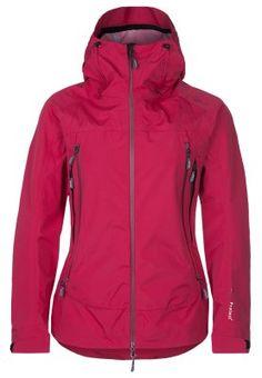 Hardshell jacket - red