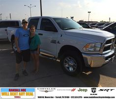#HappyAnniversary to Scott Flick on your 2014 #Ram #2500 from Taylor Waller at Randall Noe Chrysler Dodge Jeep RAM!