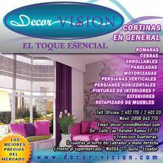 Decor Vision - Cortinas en General - Quito - Pichincha - Ecuador