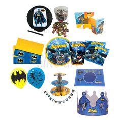 Batman Doğum Günü Parti Seti - 124.99 ₺