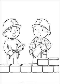 100 Bob the Builder printable coloring pages for kids. Find on coloring-book thousands of coloring pages. People Coloring Pages, Online Coloring Pages, Printable Coloring Pages, Coloring Pages For Kids, Coloring Sheets, Coloring Books, Construction Theme Preschool, Valentines Day Coloring, Bob The Builder