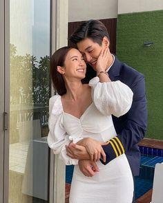 "Samantha on Instagram: ""Drama Kaen Ruk Slab Chata 💙🤍 . • Cr : @magicif_one_lakorn @kratingg @buanalinthip . . . #แค้นรักสลับชะตา #ช่อง33hd ❤️❤️#deathdealer…"" Love Couple, Couple Photos, Couples, Couple Shots, Couple, Couple Pics"