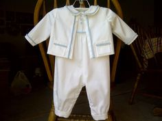I think Mason should wear this! Lisa Sews: Simplicity 5813- Baptism Outfit for my Godson