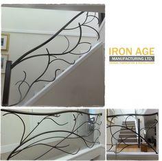 Tree Branch Railing | Interior Stair Railing - Custom Design - Tree Branch Style