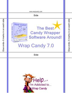 Hershey Mini Wrappers Template By Belle  Candy Bar Wrappers