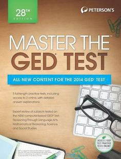 Master the GED is a comprehensive guide that offers the essential test-prep and review material for the high school equivalency diploma test, including practice tests, subject review, and expert tips on how to score high on each GED test. Readers will find the GED information they need to know-scoring and passing requirements, how to prepare, and what to expect on test day.