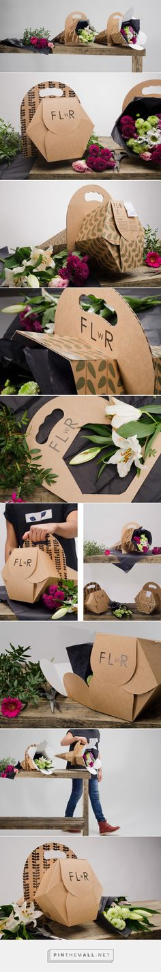 Is this the Future of Flower Packaging? Design by students - Linn Karlsson, Nina Klose and Jonathan Alonso Jonsson -  http://www.packagingoftheworld.com/2016/07/the-future-of-flower-packaging-student.html