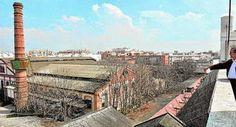 Sevilla. Se amplía la protección del conjunto de la fábrica de Vidrio La Trinidad.