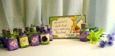 Pixie dust - salt shakers and glitter Scrapbooking by Cathryn