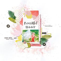 Mini Albums, Version Scrap, Girly, Home And Deco, Beautiful, Summer, Coups, Crafts, Women's