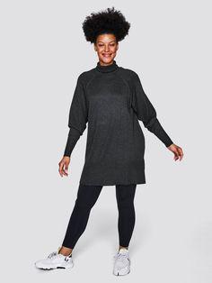 Sort melert Finstrikket genser med høy hals   Dame   Strikkede gensere på Cubus.com
