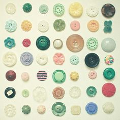 Poster | THE BUTTON COLLECTION von Cassia Beck | more posters at http://moreposter.de