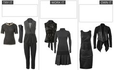The CAbi Canary - Fashion & Style Blog - CAbi   The faux leather pieces are so much fun to wear!!  Give them a try!!