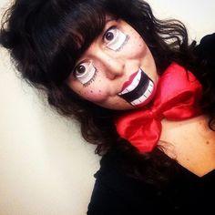 ventriloquist doll makeup | Tumblr