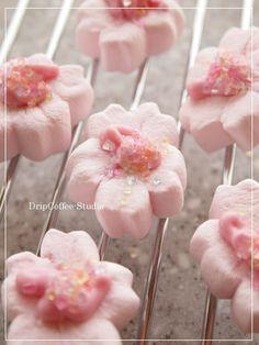 Cherry Blossem Marshmallows
