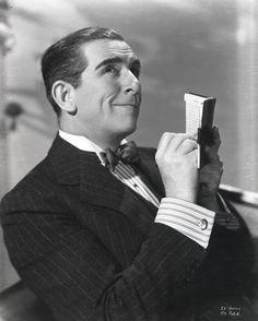 Edward Everett Horton (18 de marzo de 1886 – 29 de septiembre de 1970) Great Character Actor.
