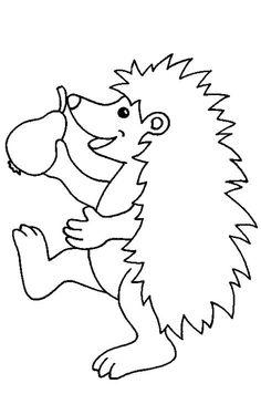 coloring page Hedgehogs on Kids-n-Fun. Coloring pages of Hedgehogs on Kids-n-Fun. More than coloring pages. At Kids-n-Fun you will always find the nicest coloring pages first! Cool Coloring Pages, Animal Coloring Pages, Printable Coloring Pages, Coloring Pages For Kids, Coloring Sheets, Coloring Books, Drawing For Kids, Art For Kids, Hedgehog Colors