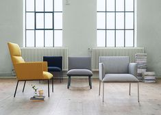 Stefan Borselius designs minimal chairs for Fogia