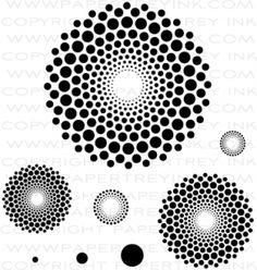 Dot Spot Stamp Set | Papertrey Ink | $15.00