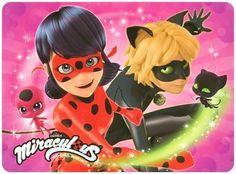 LadyBug and Tikki / ChatNoir and Plagg