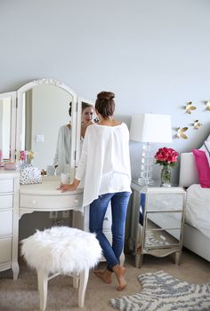 Southern Curls & Pearls: Bedroom Reveal...