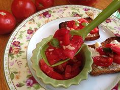 Fermented Tomato Bruschetta ~Cultured Food Life