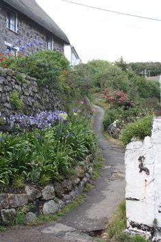 Cadgwith, Cornwall mit Kindern