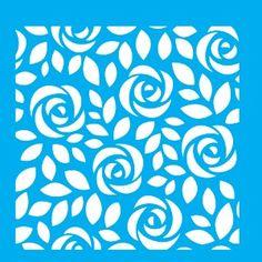 Stencil-para-Pintura-20x20-Estampa-Rosas-LSQ-023---Litocart