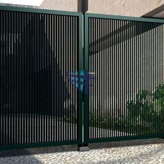 design your life Fence Gate Design, Modern Fence Design, Steel Gate Design, Front Gate Design, House Gate Design, Gate House, House Front Design, Metal Driveway Gates, Metal Gates