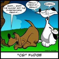 CSI canine humor