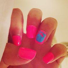 ☀#nails #pink #whale #babybeluga #barbie #malibubarbie #summer #funinthesun #sunkissed #tan #beachbumbombshell #beachbabe #mermaid #ocean #seabreeze #sail #boat #21 & #foreveryoung