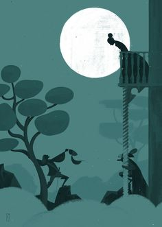 Cyrano De Bergerac · Selected artworks by Simone Massoni, via Behance