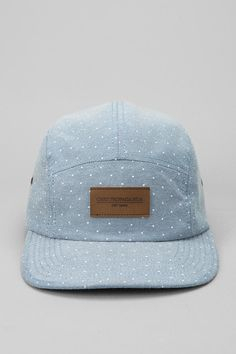 ec57cbb1be4 Urban Outfitters - OBEY Drip Chambray 5-Panel Hat 5 Panel Hat