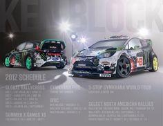 Ken Block, Ford Fiesta, Hoonigan, WRC, HFHV, Monster Energy