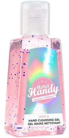 Gel mains nettoyant Merci Handy Unicorn Edition