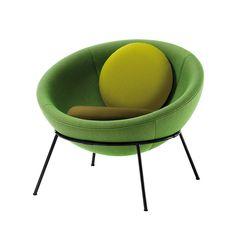 'Bowl Chair' by Lina Bo Bardi by Arper