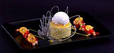 Дегустационно меню - лято 2014: Манго парфе с кососов сладолед - удивителен завършек на гастрономическата наслада в гурме ресторанта до Варна!