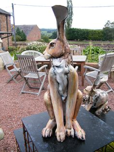 Hare by Annie Peaker Ceramics