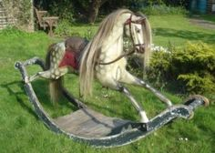 Antique Rocking Horse.